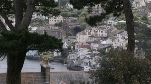 1/3 homes in Fowey are second or holiday homes