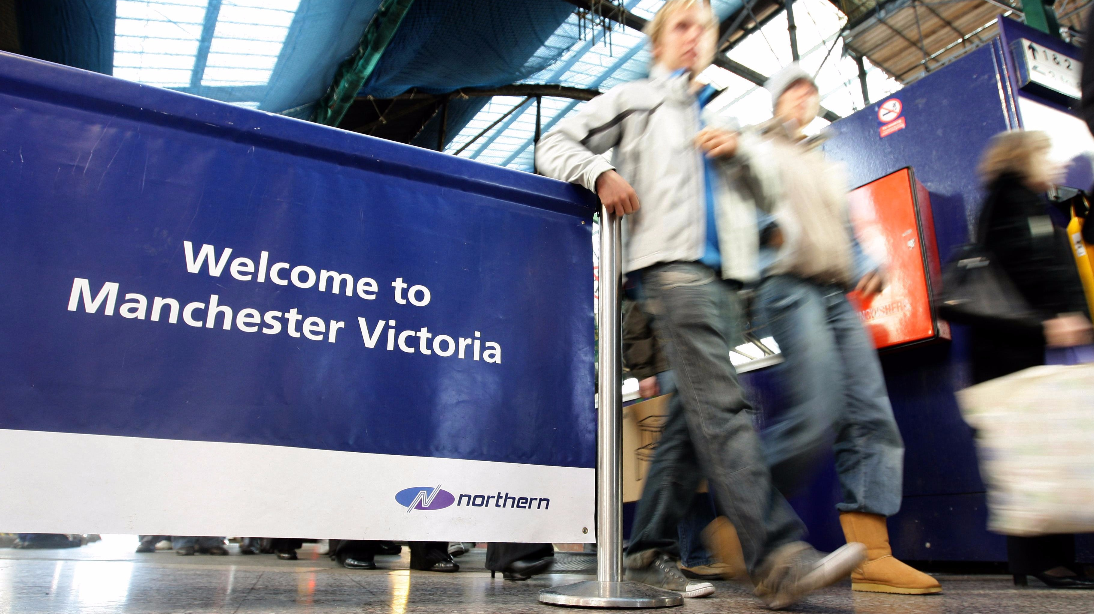 Victoria station to be renamed Victoria Wood station - for an hour ...