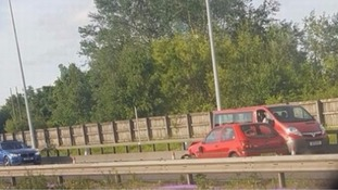 VIDEO: Driver goes wrong way on M60