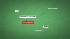 A man has died following a crash this morning.