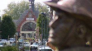Albert, in France, where Pte Robert Bailey would have spent lots of time.