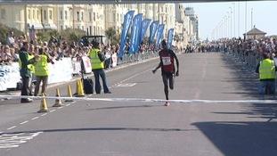 Bernard Chemugo wins Hastings Half Marathon