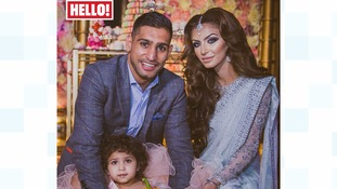 Amir Khan and wife Faryal spend £100,000 on daughter's second birthday