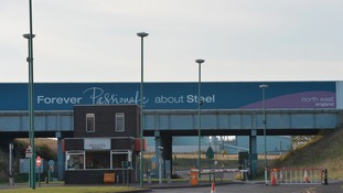 SSI steelworks front entrance