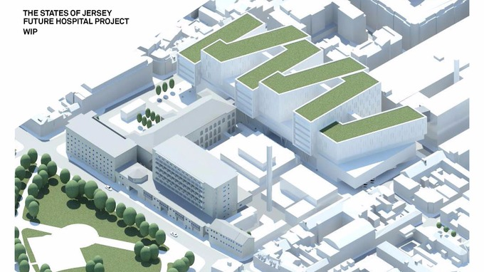 Jersey's new hospital could be built on current site - ITV News