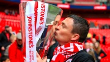 Heckingbottom led Barnsley to the Johnstone's Paint Trophy and the Championship last season