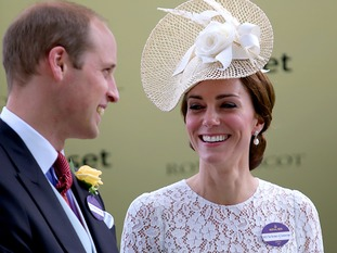 The Duke and Duchess of Cambridge were in jubilant mood at Royal Ascot.