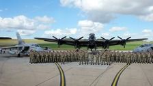 Members of IX (Bomber Squadron)