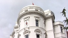 The Tynwald Parliament building in the Isle of Man.