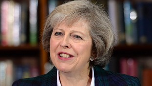 Theresa May is now the favourite for the job.