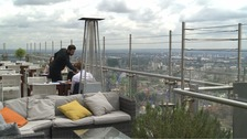 What's it like to dine in London's highest restaurants?