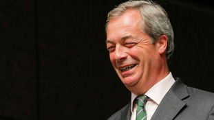 Reaction as Nigel Farage steps down as UKIP leader again