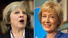 Theresa May and Andrea Leadsom named final Tory leader candidates