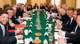 Women made up a third of David Cameron's cabinet as he left office.