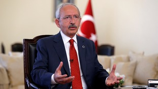 Mr Kilicdaroglu said the failed coup had brought Turkey's political parties closer together