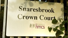 A general view of signage by the main entrance to Snaresbrook Crown Court in Holybush Hill, Snaresbrook, east London.