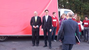 Ed Miliband and Ken Livingstone.
