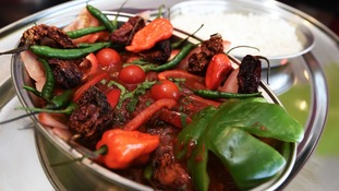 The Devils Dish contains two of the world's hottest chillis.