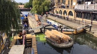 Silent disco to be held in drained Camden Lock canal.