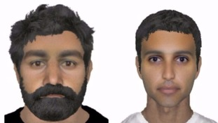 Efit of the two RAF Marham ambush suspects.
