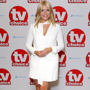 Holly Willoughby arriving for the TV Choice Awards.