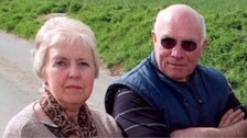 Sylvia and Peter Stuart from Suffolk