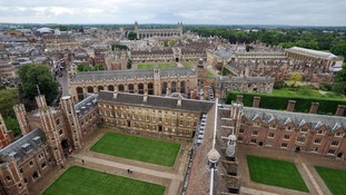 Cambridge University was ranked fourth