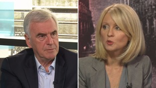 McDonnell refused to apologise to McVey