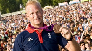Olympic rower and bronze medallist Alex Partridge.