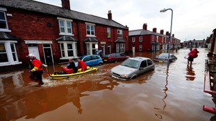 Carlisle was devastated by flooding in December.