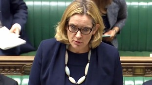 Amber Rudd said a surge in hate crimes in July appeared to be a brief spike