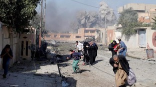 The battle to reclaim Mosul from IS has intensified in recent weeks.