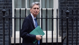 Chancellor Philip Hammond has left Downing Street to deliver his first Autumn Statement.