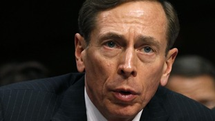 The former director of the CIA, General David Petraeus.