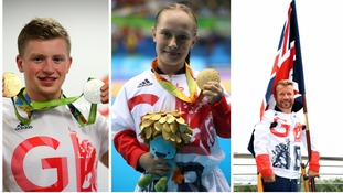 Midlands Olympic and Paralympic heroes have been recognised