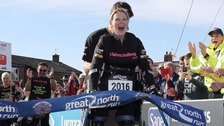 Claire Lomas has been awarded an MBE