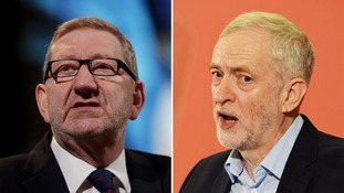 Len McCluskey says Jeremy Corbyn retains his 'full support'