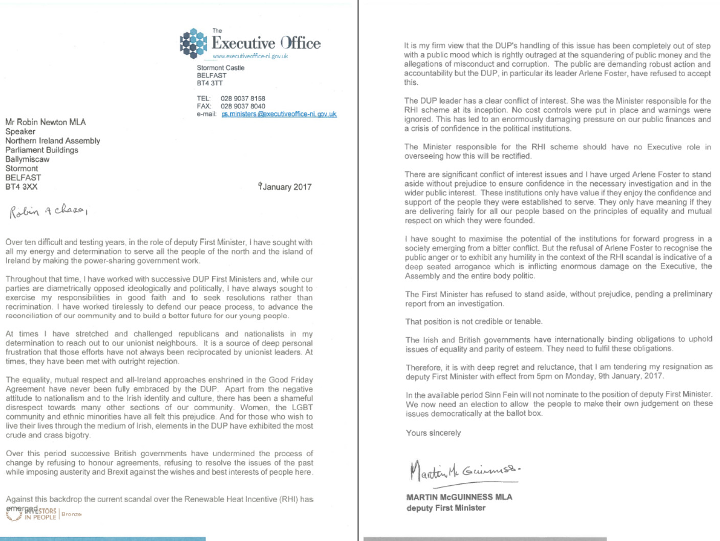 Resignation Letter With Regrets from news.images.itv.com