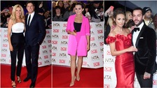 Tess Daly and husband Vernon Kay, Scarlett Moffatt, Megan McKenna and Pete Wicks.