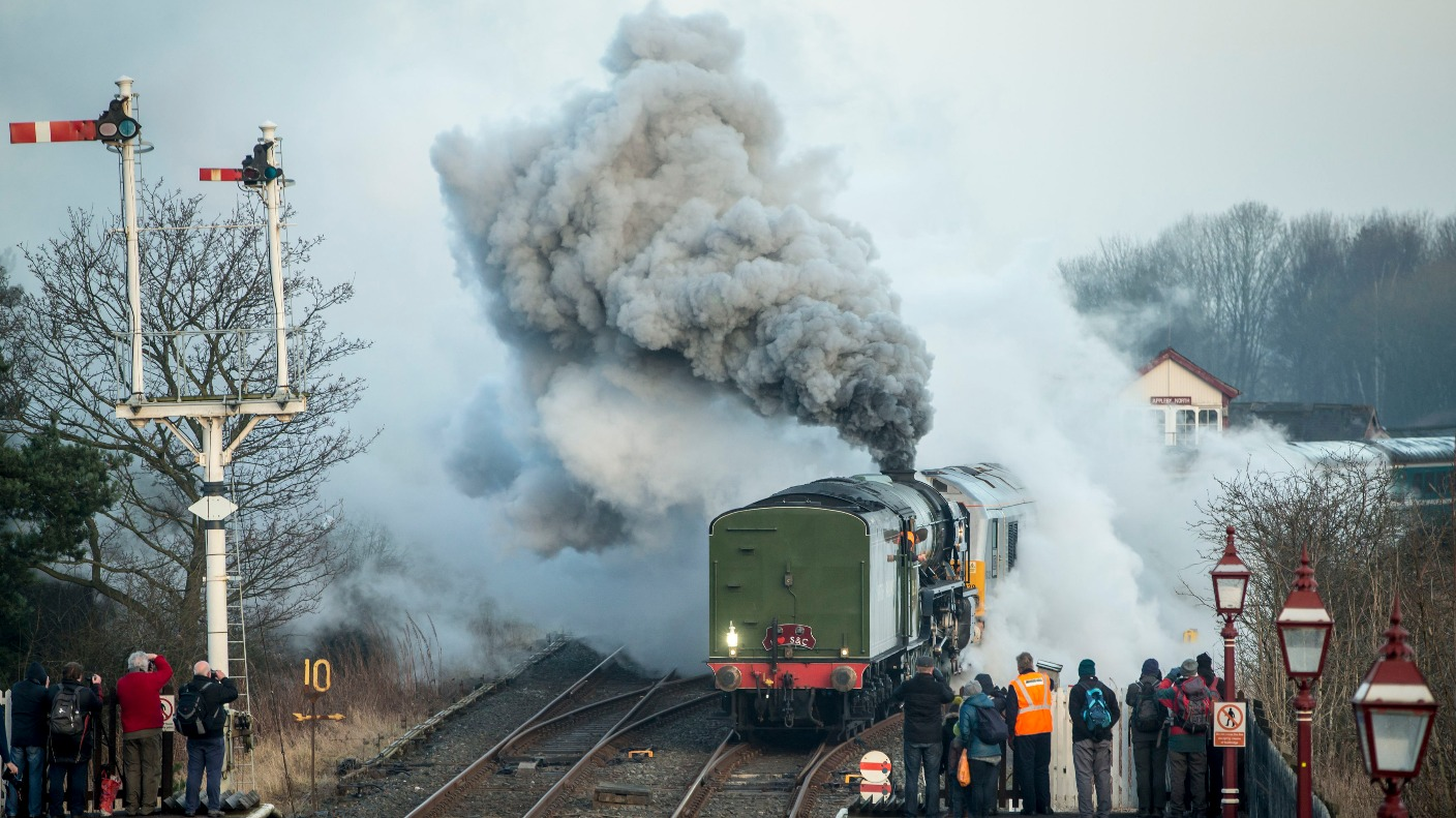 Steam Locomotive Replaces Main Line Service For First Time