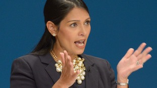 Priti Patel has previously said funding to global aid organisations could be cut.