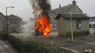 Firefighters were called out on Thursday morning to tackle the blaze.