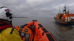 Woman rescued after major lifeboat search