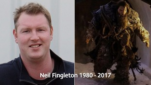 The funeral of actor Neil Fingleton takes place at Durham Cathedral