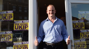 Douglas Carswell became Ukip's first MP when we won the Clacton-on-Sea by-election in 2014 after resigning the Tory seat.