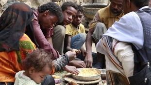 Half of Yemen's population do not know where their next meal is coming from.