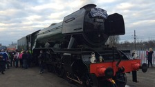 The Flying Scotsman was built in Doncaster.