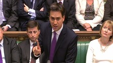 Ed Miliband led the crossbench rebellion against supporting US-led airstrikes on the Assad regime.