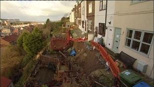 Five houses have to be demolished to ensure the safety of their residents