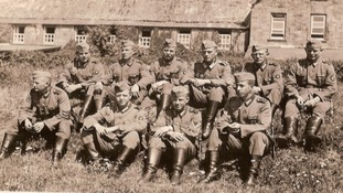 Photograph of Nazi soldiers in Sark